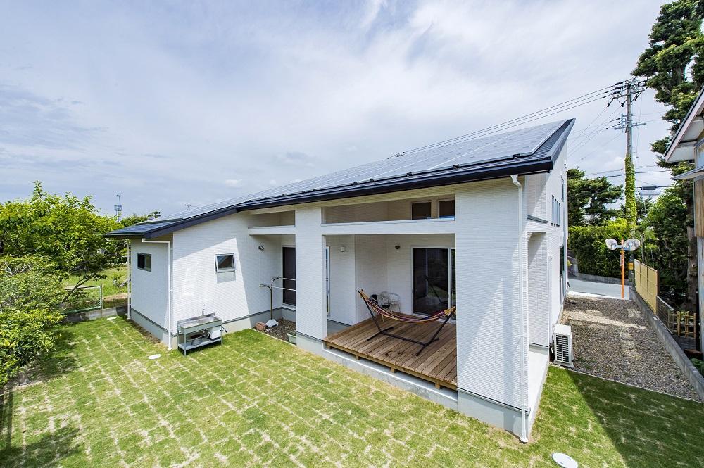 太陽光発電+平屋の相性がいい理由