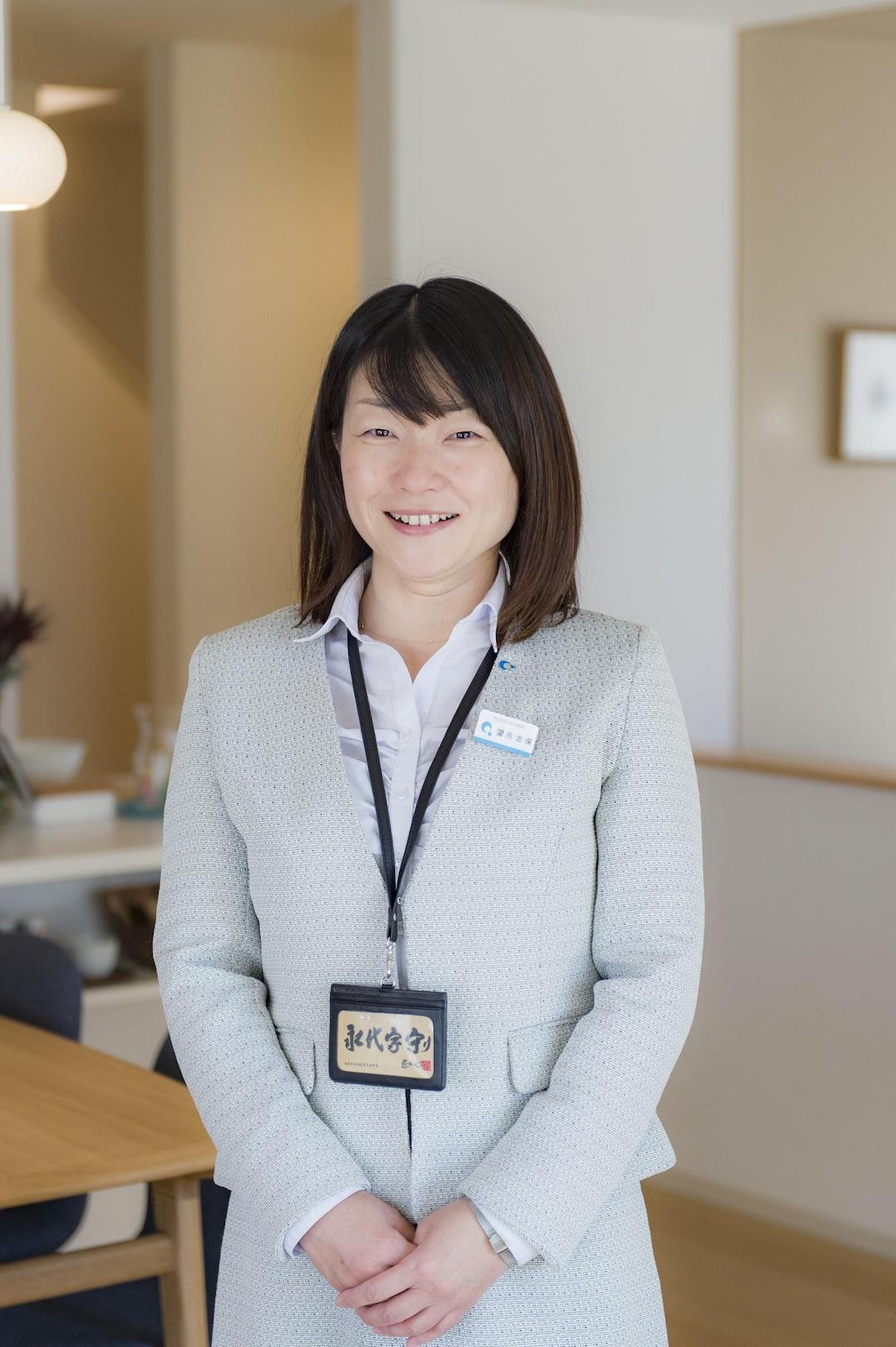 アキュラホームの社員紹介 浜松展示場〜望月 志保〜