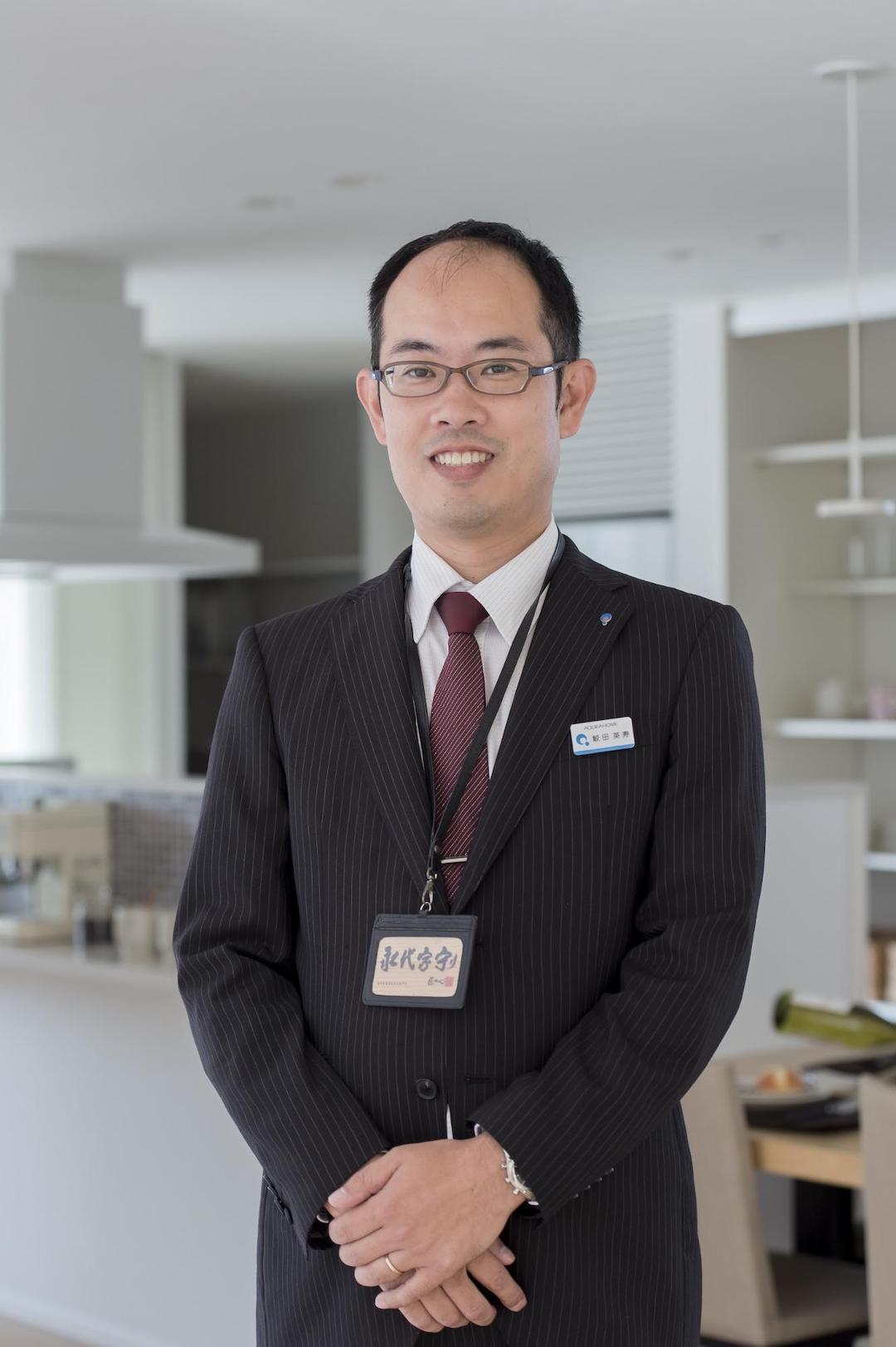 アキュラホーム浜松の社員を紹介♪   管理チーム 鮫田英寿